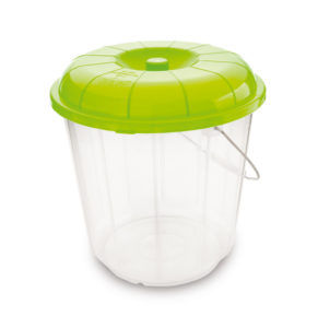 balde de plastico con tapa