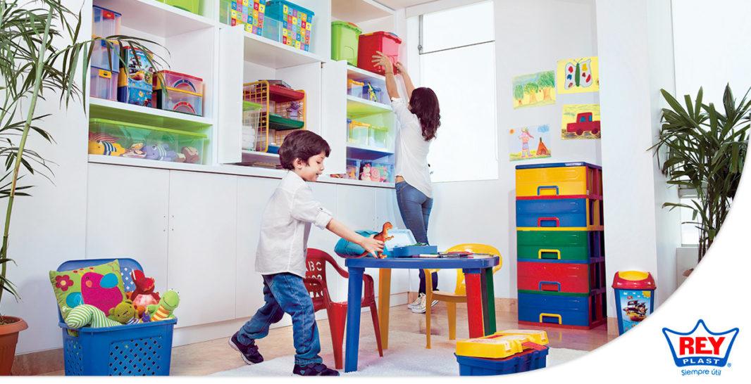 4 formas pr cticas y sencillas para organizar tus cosas en el hogar reyplast - Cosas originales para el hogar ...
