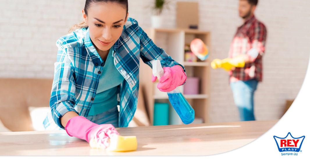 5 Consejos para limpiar la casa rápido y sin problemas - REYPLAST