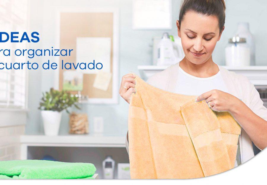 6 ideas para organizar tu cuarto de lavado