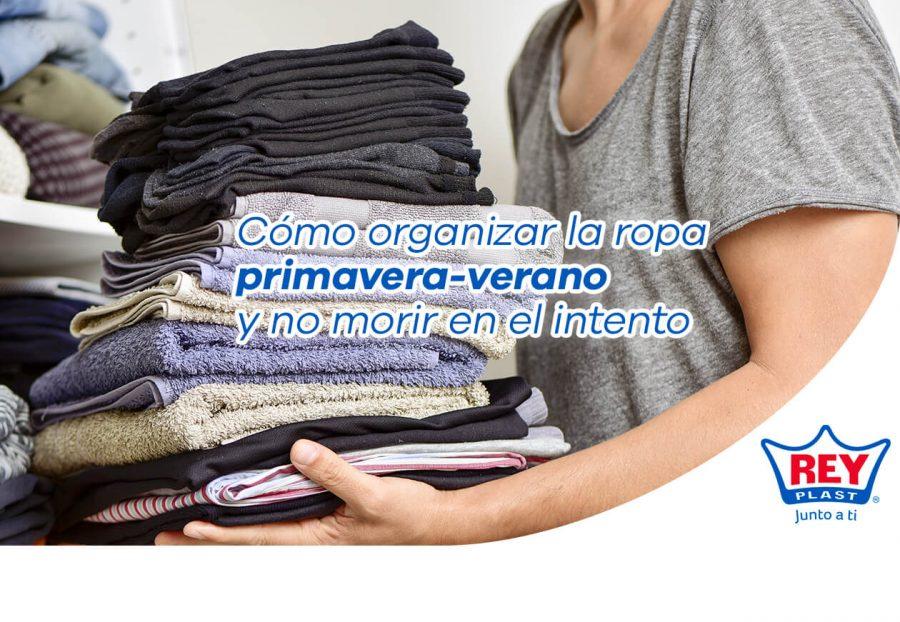 Cómo organizar la ropa de primavera-verano y no morir en el intento