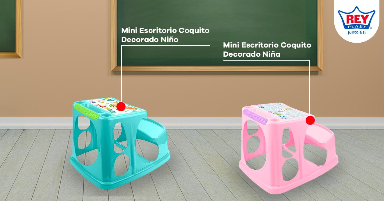 muebles para decorar una sala de estudios para  niños