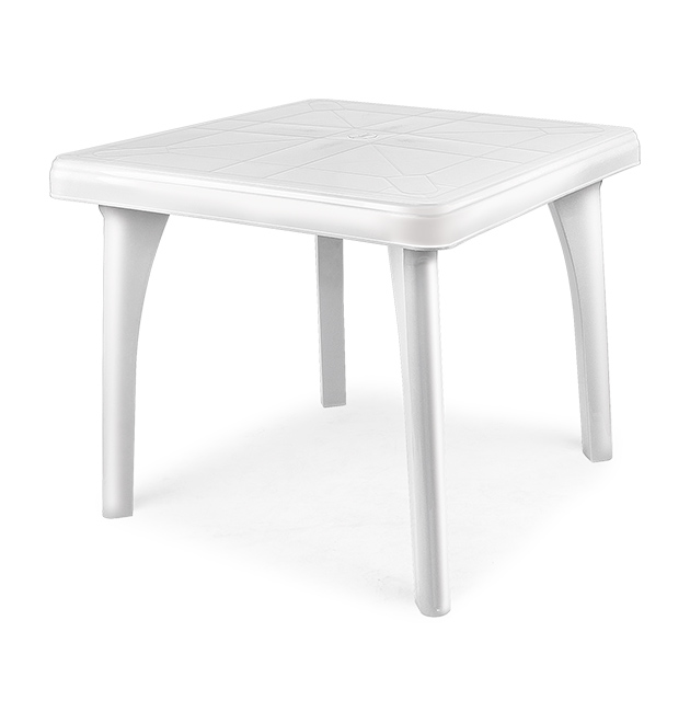Reyplast for Mesa cuadrada blanca